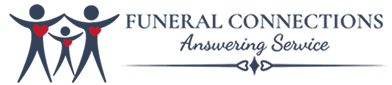 Funeral Connections Answering Service Logo